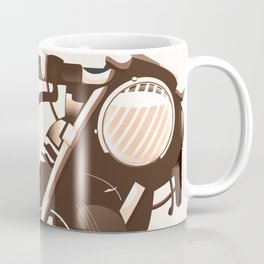 Vintage Motorcycle Coffee Mug