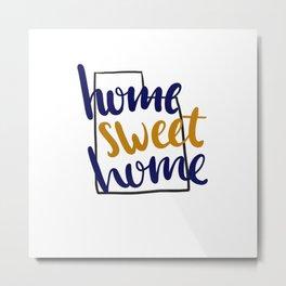 Home Sweet Home-BYU Metal Print