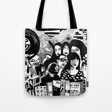 Sound & Vision: 2013 in Music by Steven Fiche Tote Bag