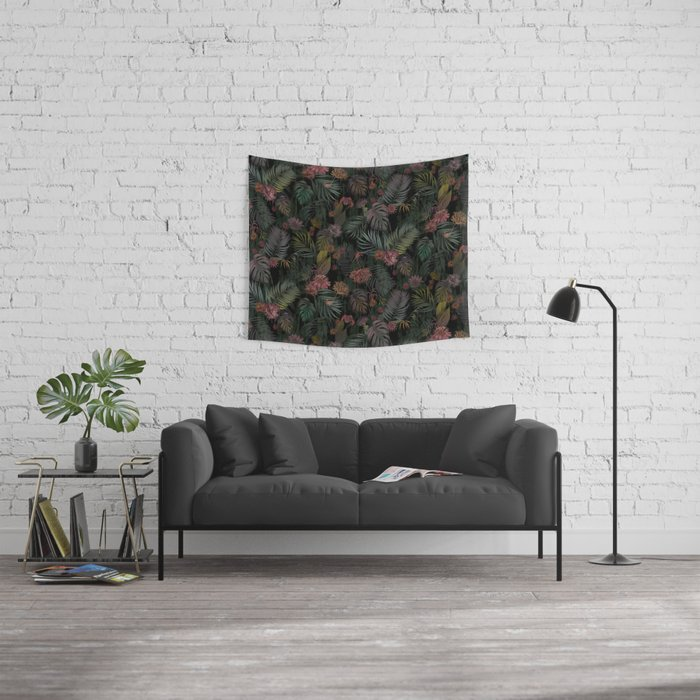 Tropical Iridescence Wall Tapestry