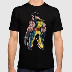 Wolverine 2X-LARGE Black Mens Fitted Tee