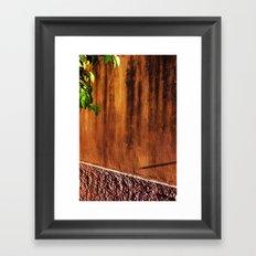 Sunset wall Framed Art Print