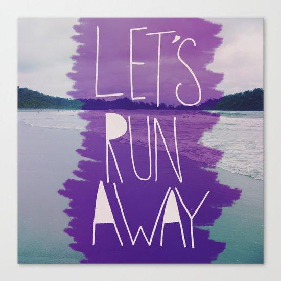 Let's Run Away: Manuel Antonio, Costa Rica Canvas Print