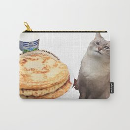 Pancake cat Carry-All Pouch