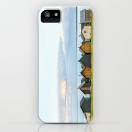Fishing huts hutte 7 iPhone Case