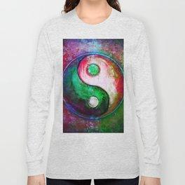 Yin Yang - Colorful Painting VII Long Sleeve T-shirt