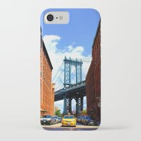 bridge iPhone & iPod Cases featuring Bridge by Brown Eyed Lady