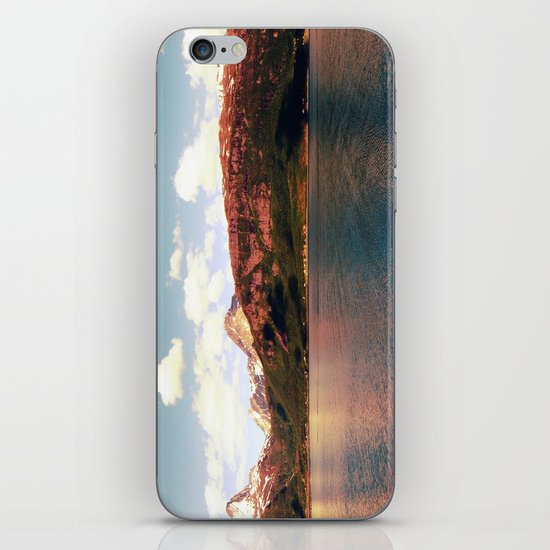 fjord landscape panorama, norway iPhone & iPod Skin