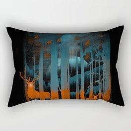 NIGHT NEGATIVITY Rectangular Pillow