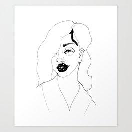 Bang Bang Girls Art Print