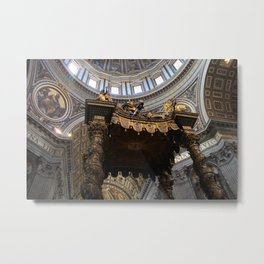 High Upon The Altar  Metal Print