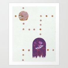 ManPac Acid 2 Art Print