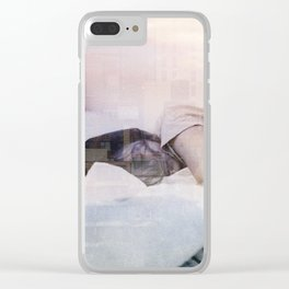 Sleeping in the city Clear iPhone Case