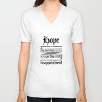 warhammer V-neck T-shirts featuring Librarian quote, Warhammer 40K by ZsaMo Design
