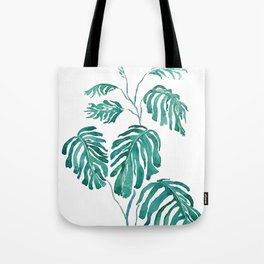 Monstera painting 2017 Tote Bag