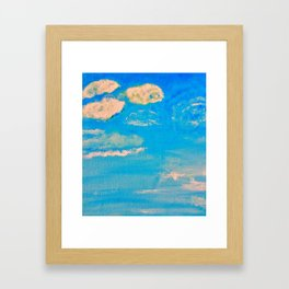 Blue Skies in Florida #3 Framed Art Print