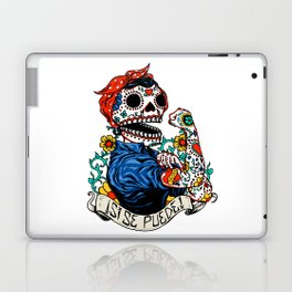 We Can Do It Skull Laptop & iPad Skin
