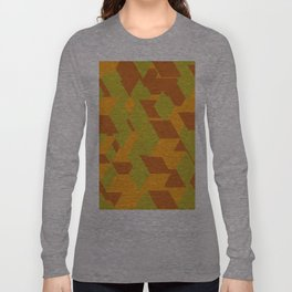 Cubes Long Sleeve T-shirt