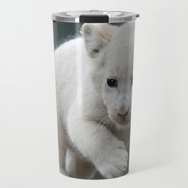 White lion cub Travel Mug