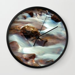 Panther Branch Creek 3 Wall Clock