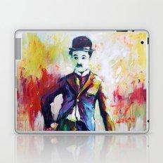 Charlie Chaplin Laptop & iPad Skin