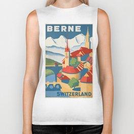 Vintage poster - Berne Biker Tank