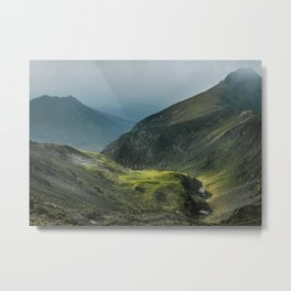 Sunlight in a Valley Metal Print