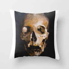 skull 9 Throw Pillow