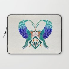 couple of blue birds Laptop Sleeve