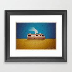 Breaking Bad - 4 Days Out Framed Art Print