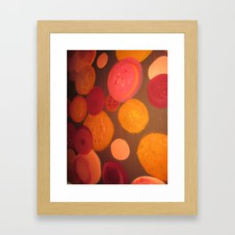 AND HEARTS Framed Art Print