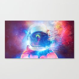 the Universe is in us Canvas Print