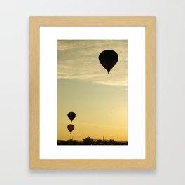 Big Bend Balloon Bash 2012 Framed Art Print
