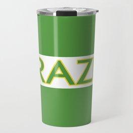Brazil (Stripe) Travel Mug