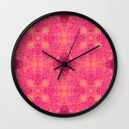 pink quadro Wall Clock