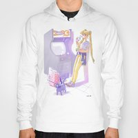 sailormoon Hoodies featuring 90s Sailormoon by Collectif PinUp!