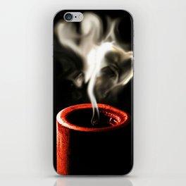Love is like a flame iPhone Skin