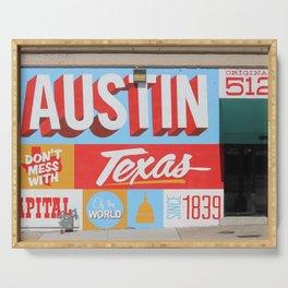 Austin, TX Serving Tray