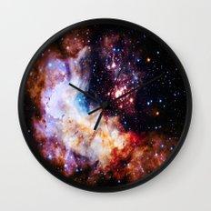 gALaxy : Celestial Fireworks Wall Clock