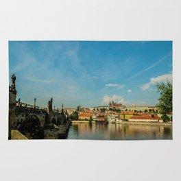 Charles Bridge in Prague Rug