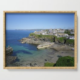 PORT ISAAC HARBOUR (PORTWENN IN DOC MARTIN) CORNWALL Serving Tray