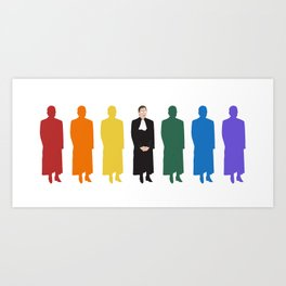 RBG Has Spoken Art Print