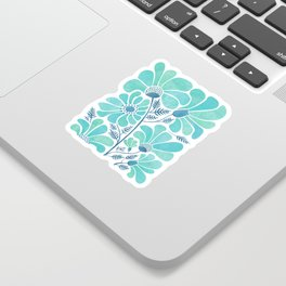 Himalayan Blue Poppies Sticker