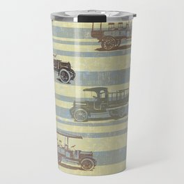 Vintage Truck Pattern Travel Mug
