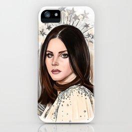 Lana Del Rey/Hedy Lamarr iPhone Case