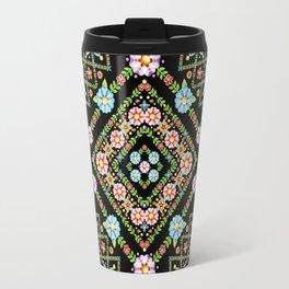 Millefiori Floral Lattice Travel Mug