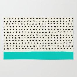 Aqua x Dots Rug