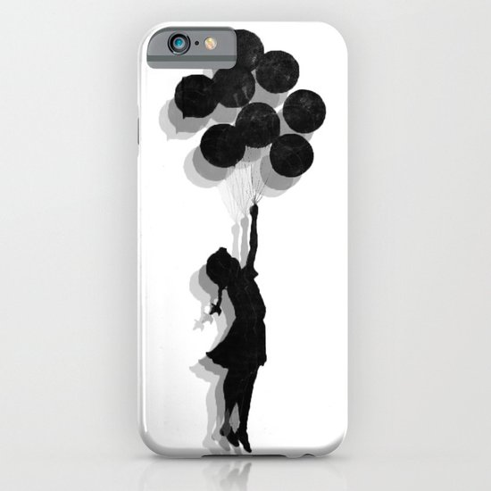 Banksy Fly Away  iPhone & iPod Case