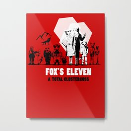 Fox's Eleven Metal Print