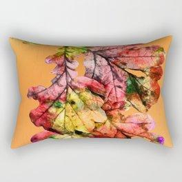 Oak Leaves Rectangular Pillow